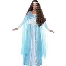 Middeleeuwse maiden kostuum vrouw