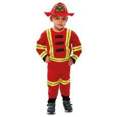 Kleine Brandweer held pakje