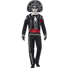 Mexicaans Kostuum Man Day Of The Dead