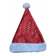 Kerstmuts met glinsteringen