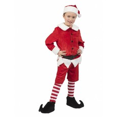 Kerstman Elf kostuum kind