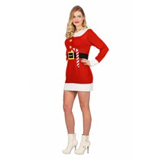 Kerstjurk Rood Kerstelf