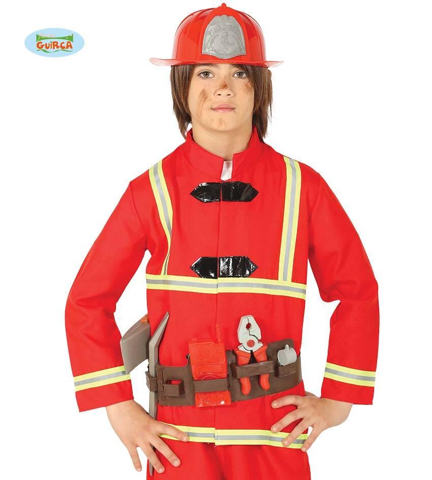 Koppelriem en Helm Brandweerman