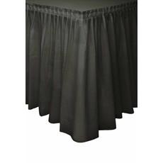 Tafelrok zwart 73x426cm