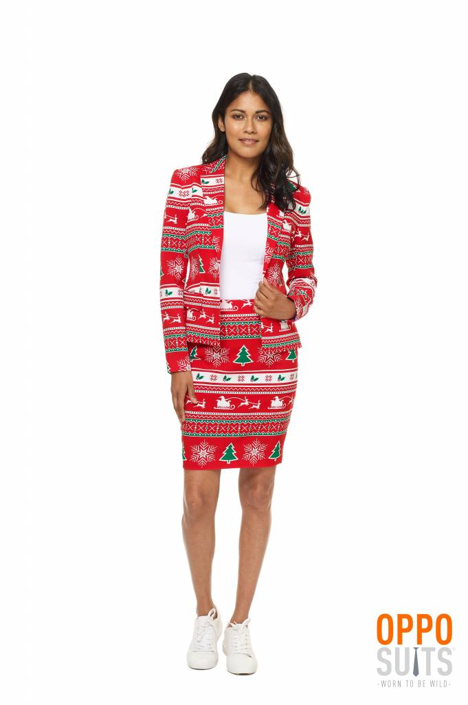 Winter Woman kerst kostuum
