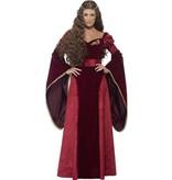 Middeleeuwse Koningin kostuum deluxe