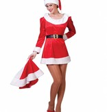 Kerstvrouw pakje Sanny Fluweel