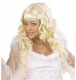 Blonde dames pruik Angelica