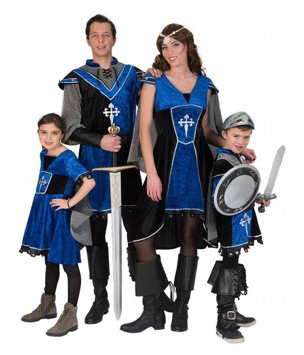 Middeleeuwe Ridder kostuum Dames Tamara