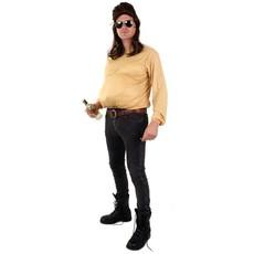 Bierbuik shirt met mouwen