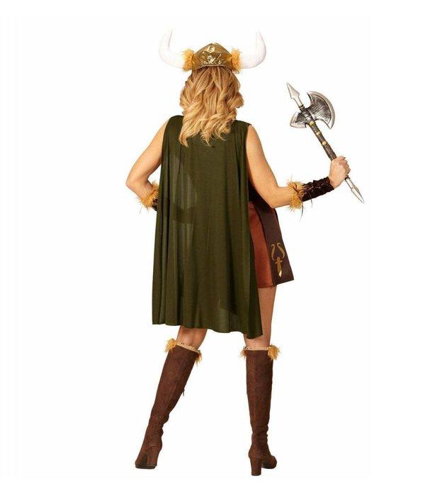 Viking Sigursdottir Vrouw Kostuum