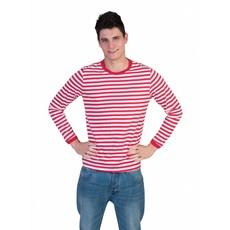 Rood/Wit gestreept shirt