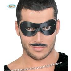 Zwarte Pierrot Oogmasker