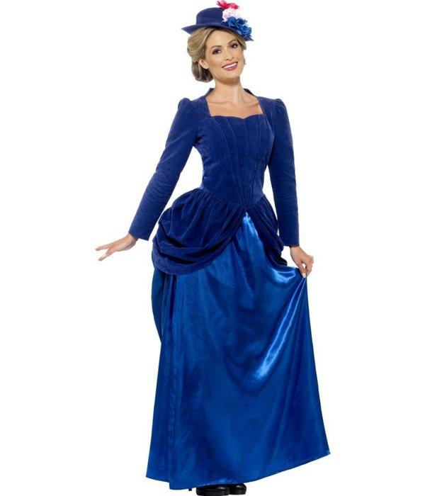 Historische Victoriaans kostuum dame