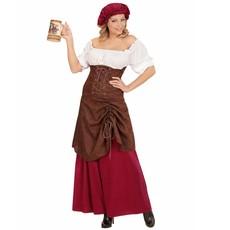 Taveerne Meid Vrouw Kostuum