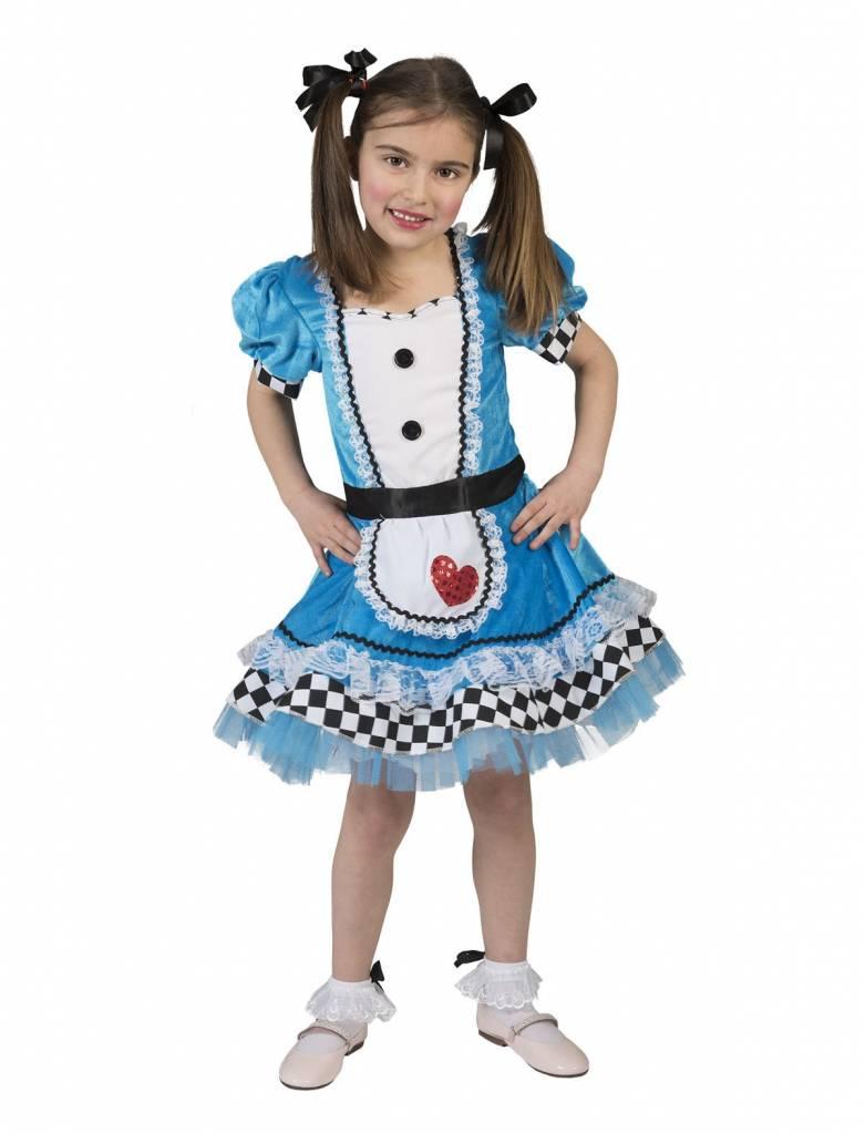 Alice In Wonderland Meisje Jurk