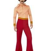 Authentieke 70's retro kostuum man