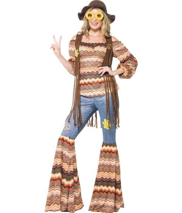 Harmonie Hippie kostuum vrouw