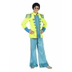 Neon Beatles jas heren groen