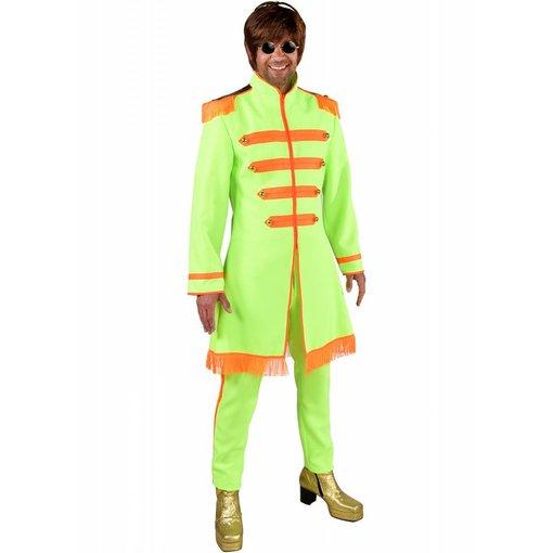 Sgt. Pepper Kostuum Neon Groen
