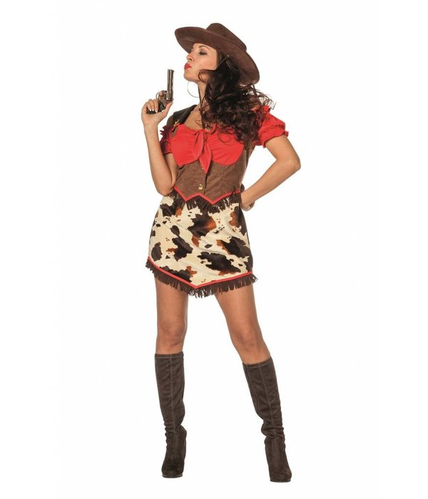 Cowboy Jurk Vrouw Kostuum