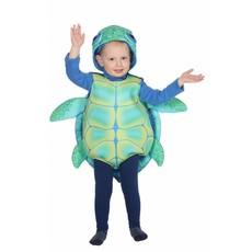 Zee Schildpad Kind Kostuum