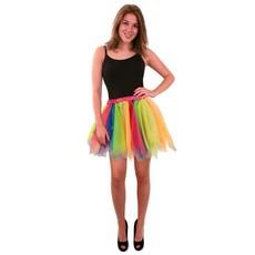 Tule rok regenboog dames