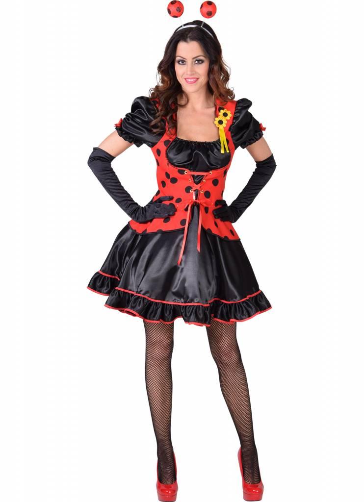 Lieveheersbeestje Kostuum Vrouw