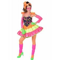 Jaren 80 Disco Vrouw Kostuum