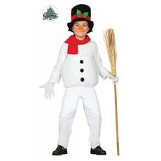Sneeuwpop kleding kind