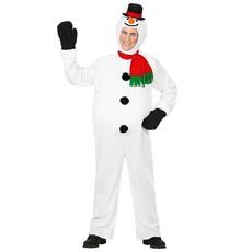 Sneeuwpop Jumpsuit Volwassenen