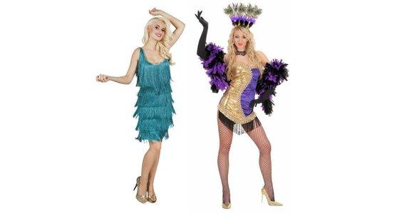 Showgirl kostuum