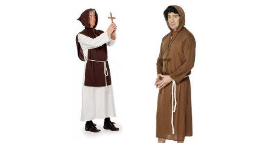 Monnik kostuum
