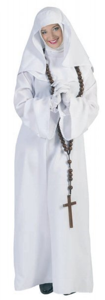 Italiaans nonnen kostuum Soraya