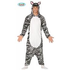 Zebra Jumpsuit met Capuchon