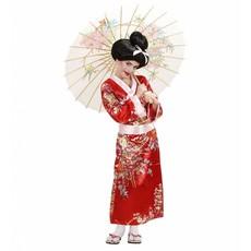 Geisha Flower Kostuum Meisje