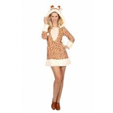 Giraffe Jurk Kostuum Vrouw