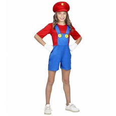 Mario Loodgieter Kostuum Meisje