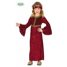 Middeleeuwse Dame Kostuum Meisje
