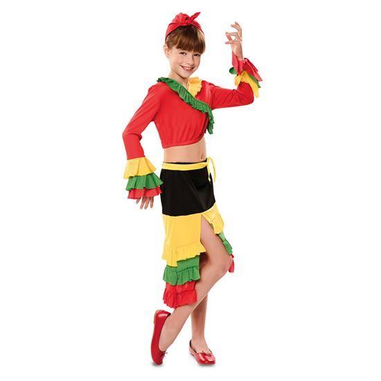 Rumba Danseres Kostuum Kind