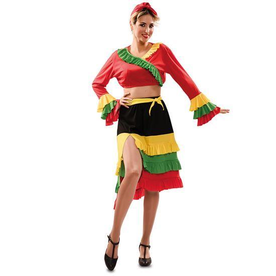 Rumba Danseres Kostuum Vrouw