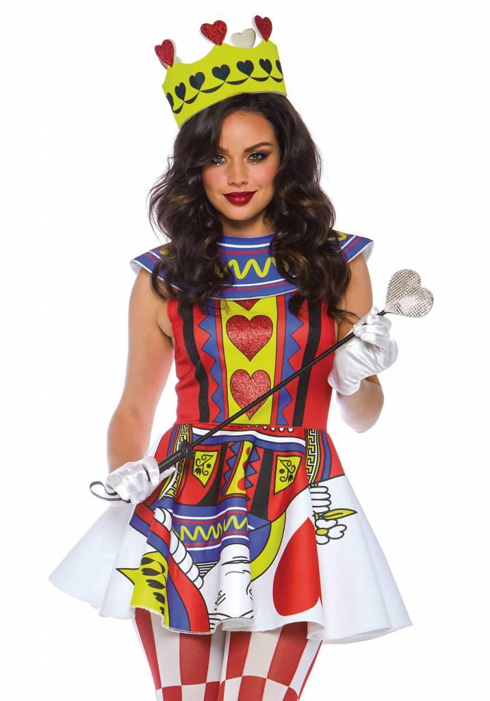 Card Queen dress