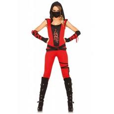 Sexy Dames Ninja Vrouw Kostuum