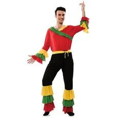 Rumba Danser Kostuum Man