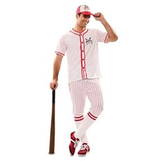 Honkbalspeler Kostuum Man
