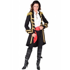 Piraat Kapitein Kostuum Vrouw