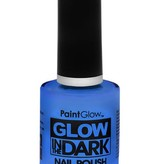 Glow in the dark nagellak UV neon Blauw