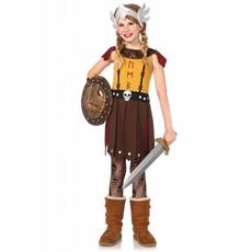 Meisjes Viking Warrior kostuum