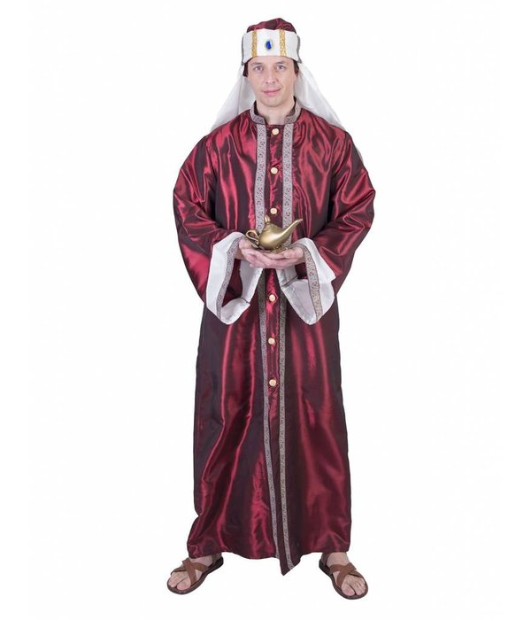 Arabische Prins Sjah Kostuum Man