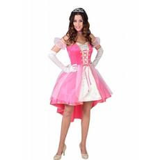 Roze Prinses Jurk Vrouw